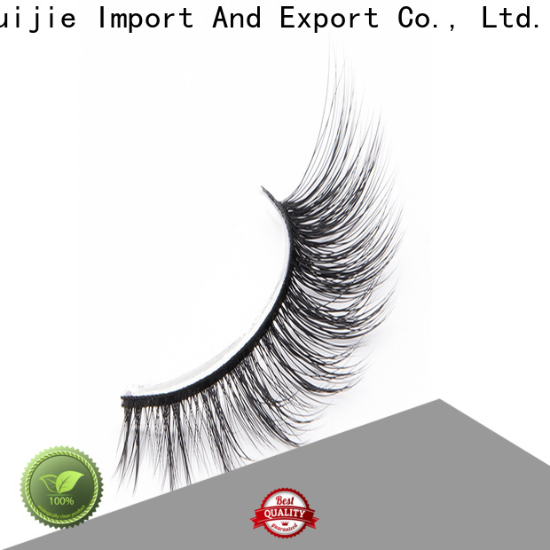 Top faux mink synthetic eyelashes fiber supply for beginners