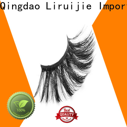 Liruijie yh synthetic eyelashes supply for almond eyes