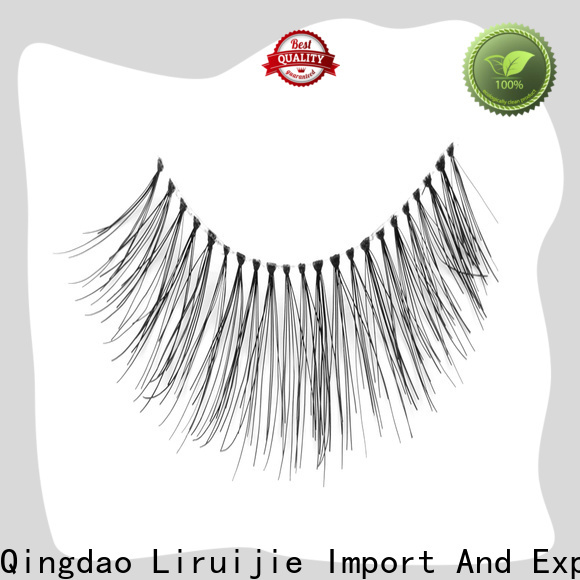 Liruijie Top remy eyelashes wholesale supply for round eyes