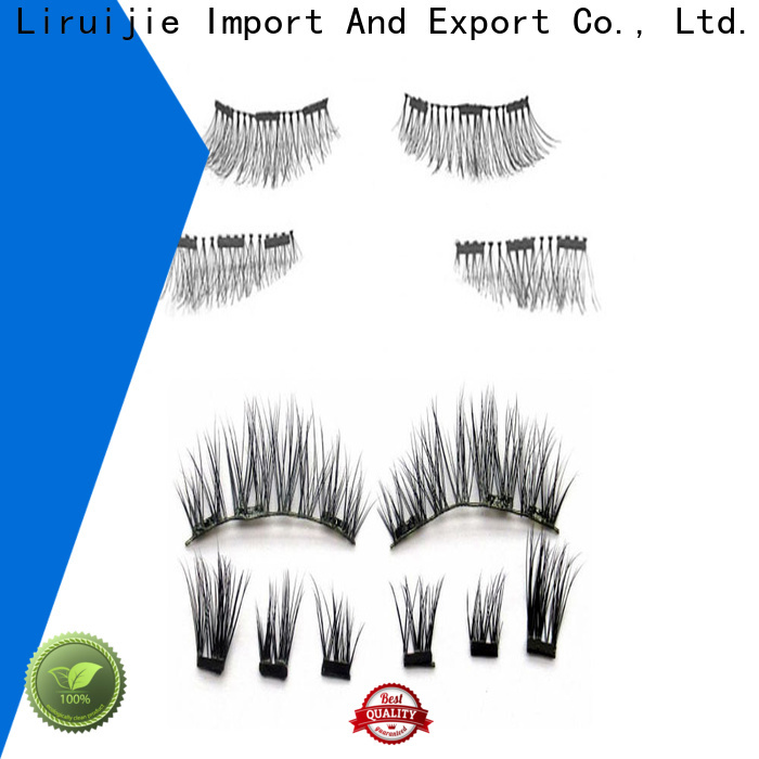 Liruijie beauty salon eyelash extensions for business for round eyes