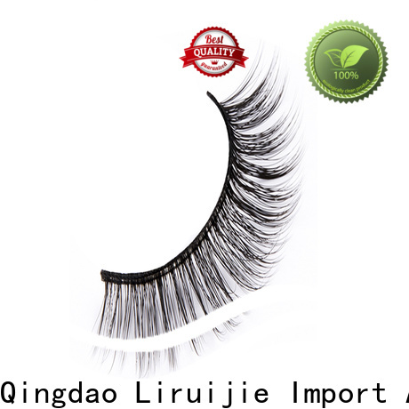 Liruijie flower long lasting false eyelashes factory for Asian eyes