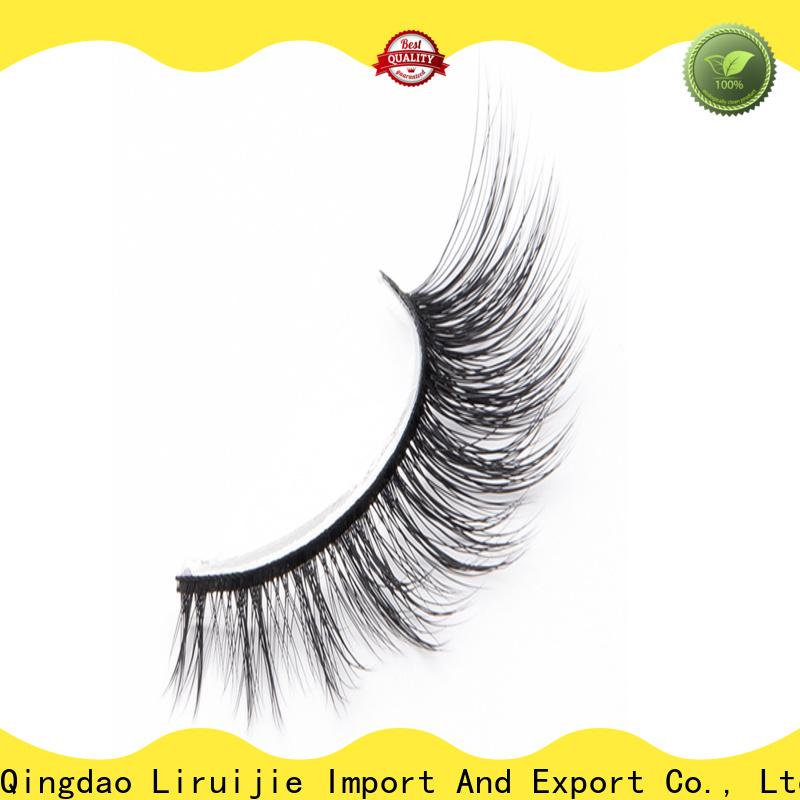 Liruijie eyelash synthetic lashes manufacturers for round eyes