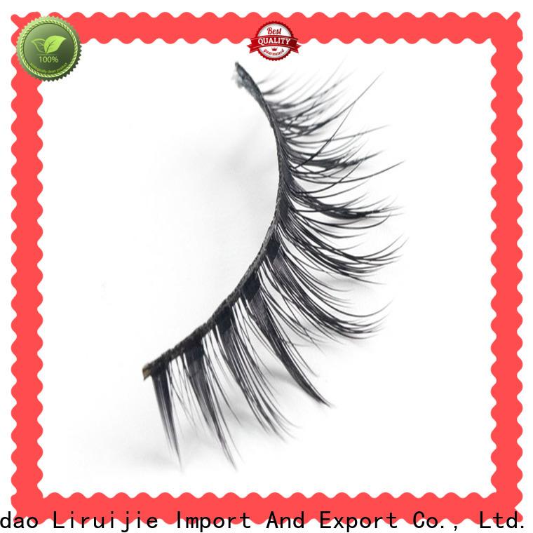 Liruijie Custom synthetic eyelash suppliers supply for beginners
