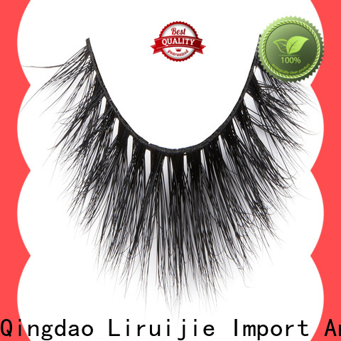 Liruijie dramatic wholesale mink individual lashes manufacturers for small eyes