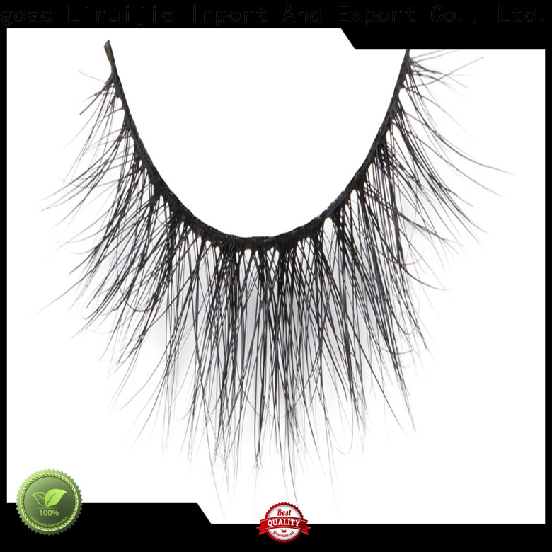 Liruijie dramatic mink fur lashes wholesale company for small eyes