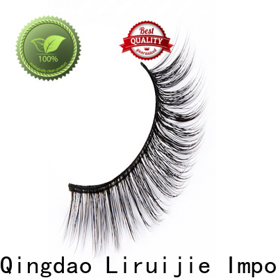 Liruijie magnetic eyelashes supplier for business for round eyes