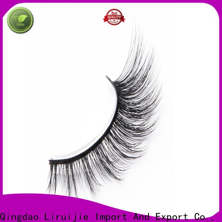 Liruijie eyelashes best synthetic eyelashes supply for Asian eyes