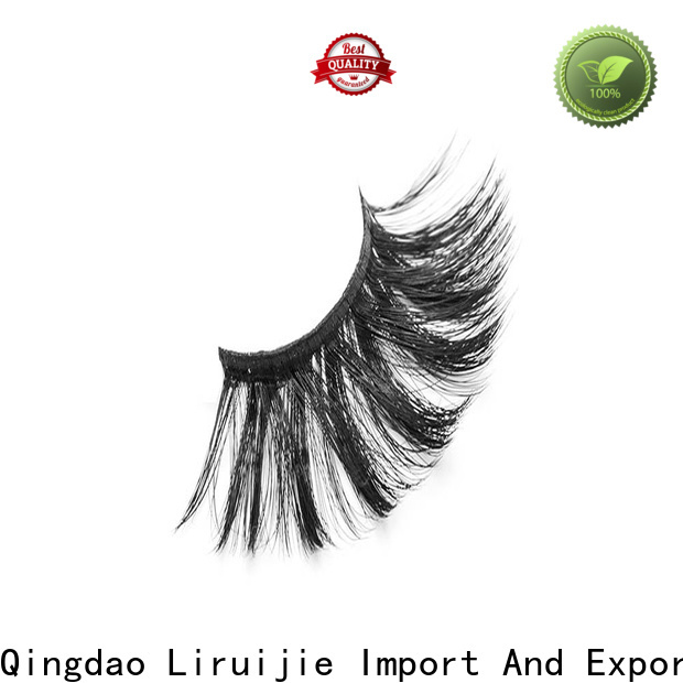 Liruijie Wholesale synthetic lashes suppliers for round eyes