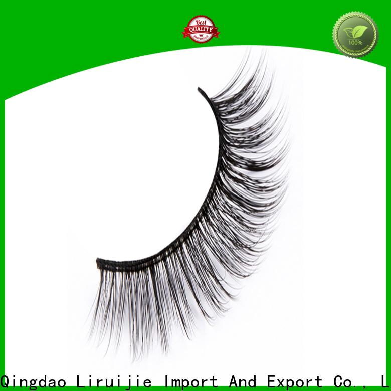 Liruijie Wholesale best synthetic eyelashes supply for round eyes