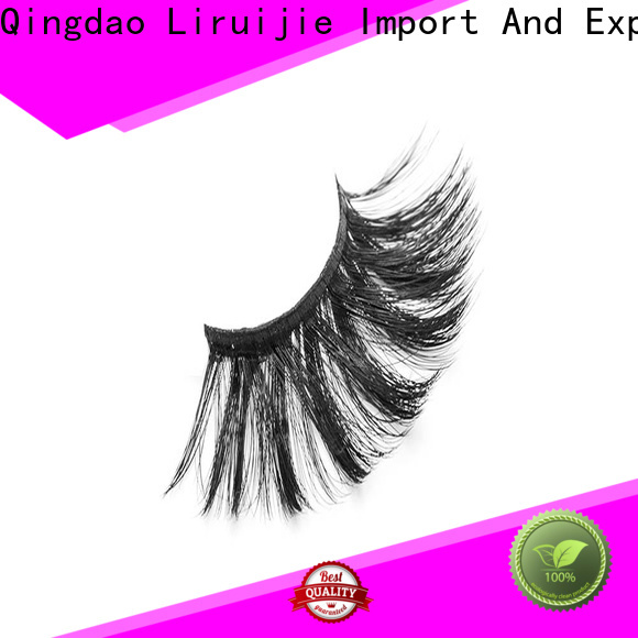 Liruijie lashes synthetic eyelash suppliers factory for round eyes