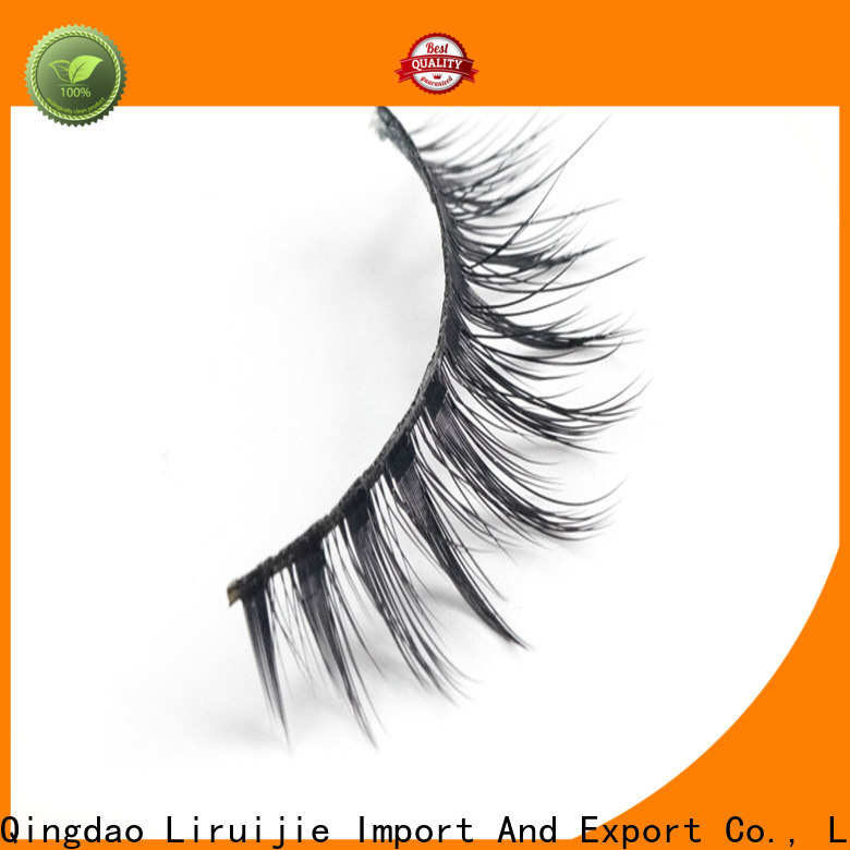 Latest synthetic eyelashes fluffy for business for round eyes