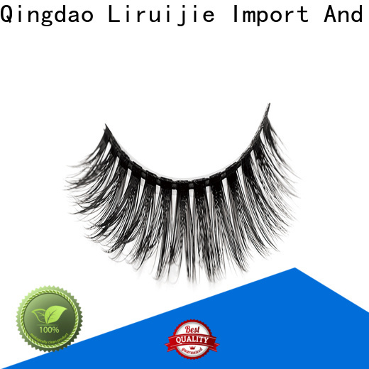 Liruijie Best synthetic eyelash wholesale factory for almond eyes