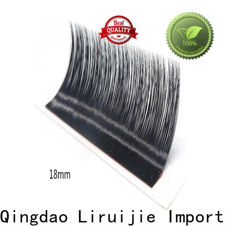 Liruijie lash long lasting eyelash extensions suppliers for small eyes