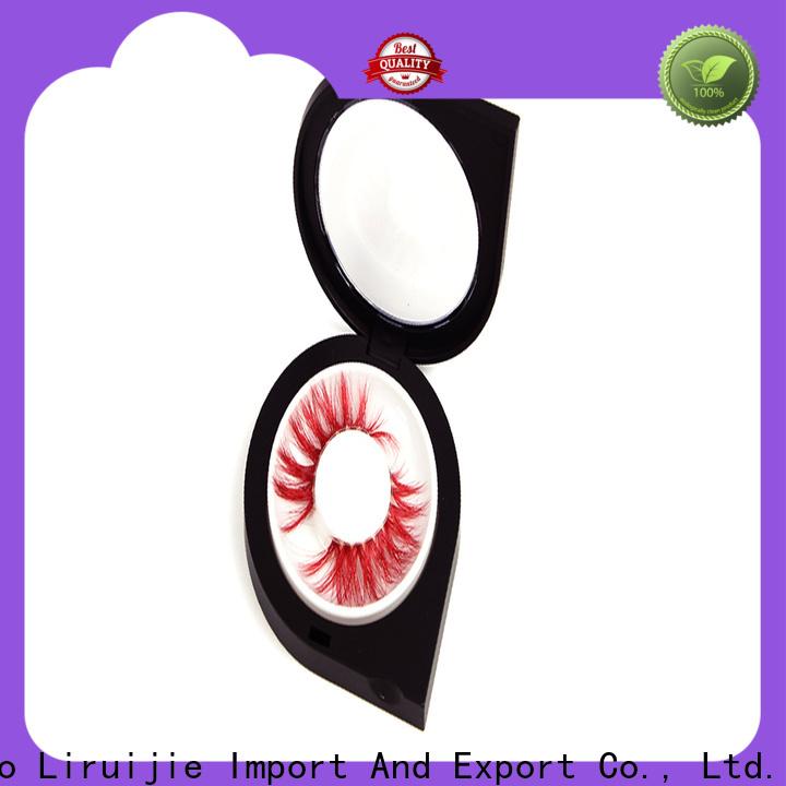 Liruijie mink false lashes bulk wholesale for business for magnetic eyelashes