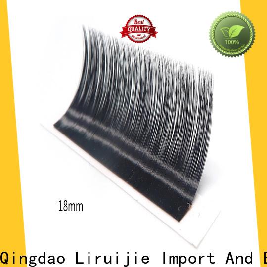 Liruijie Custom allure beauty eyelash extension review company for round eyes