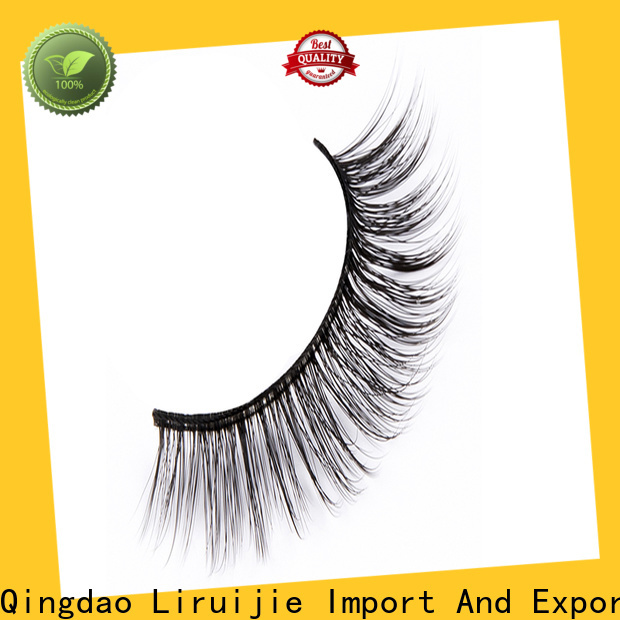 Liruijie High-quality synthetic false lashes factory for beginners