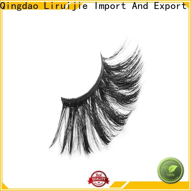 Liruijie Wholesale best synthetic eyelashes company for Asian eyes