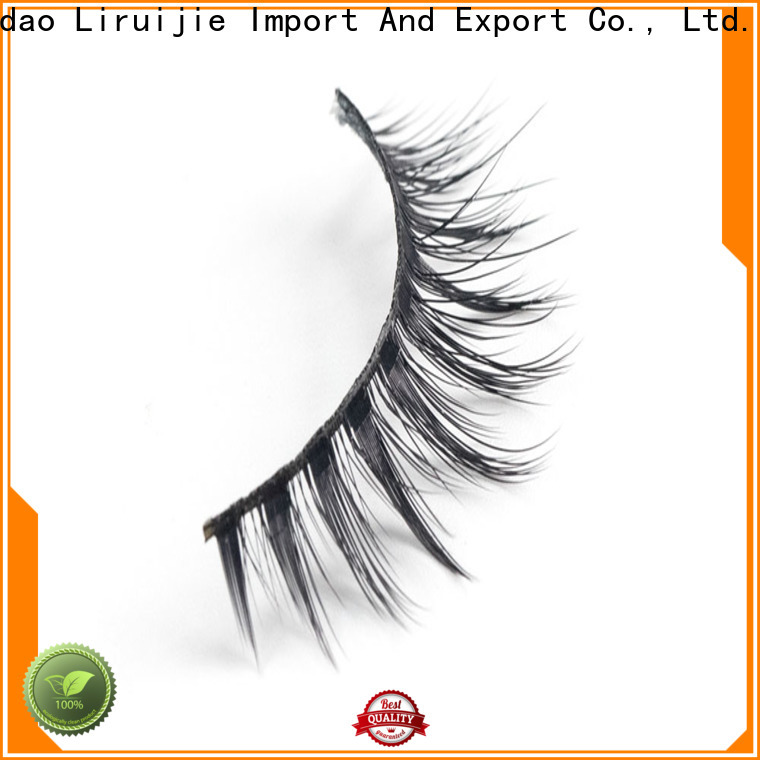 New synthetic magnetic eyelashes mink suppliers for round eyes