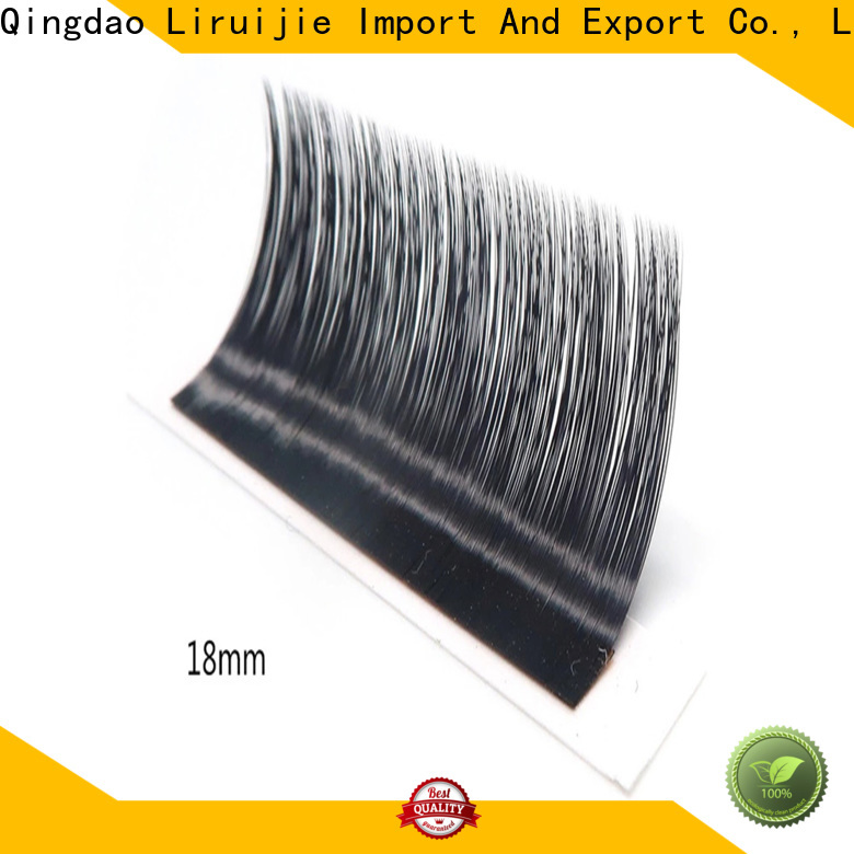 Wholesale types of lash extensions eyelash suppliers for round eyes