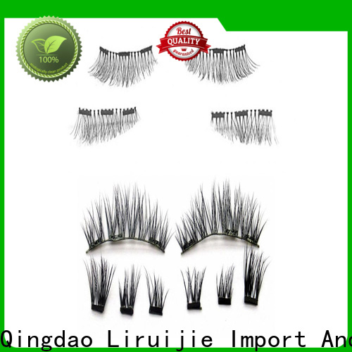 Liruijie High-quality semi permanent fake eyelashes suppliers for round eyes