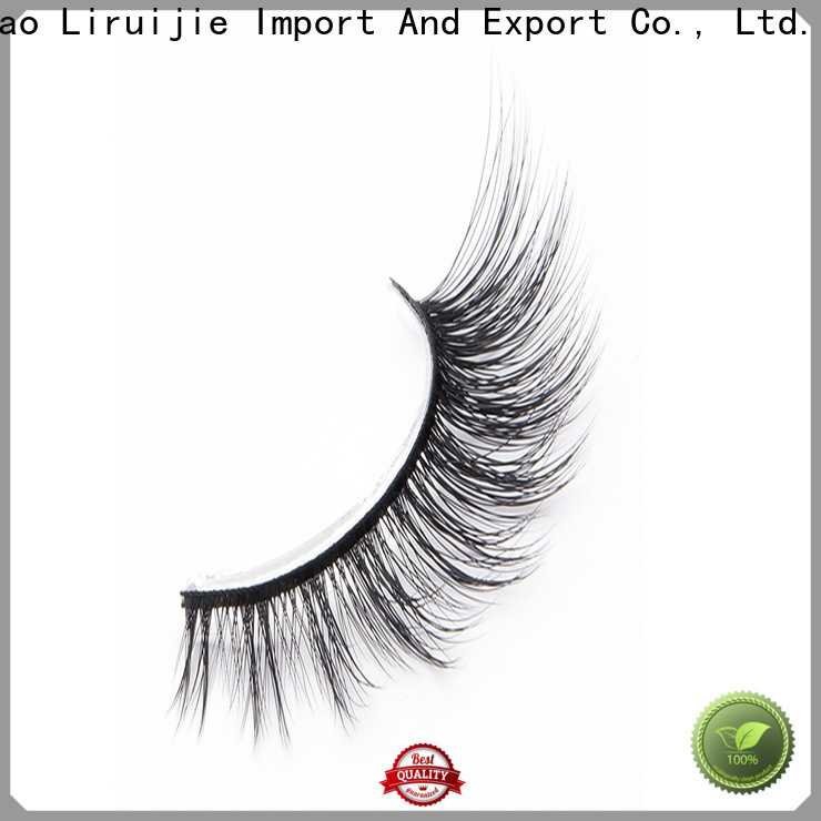Liruijie flower synthetic silk lashes factory for Asian eyes
