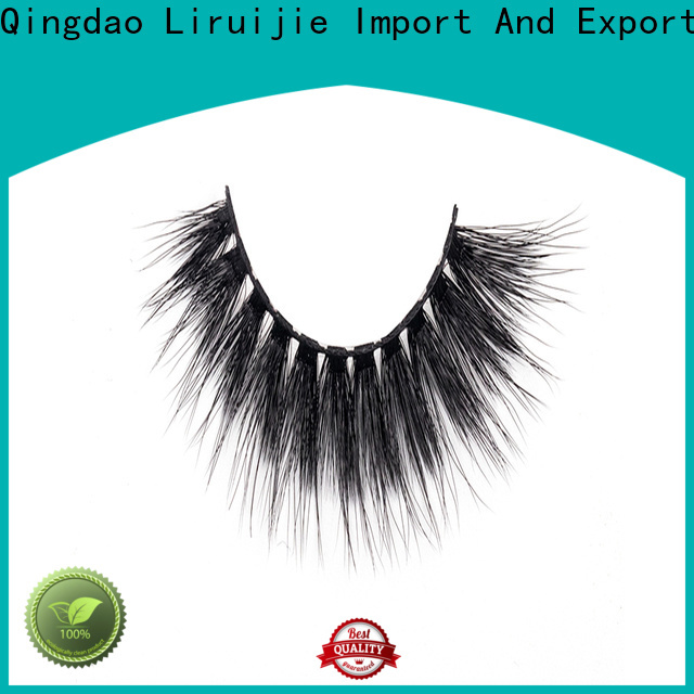 Liruijie New 3d synthetic lashes manufacturers for Asian eyes