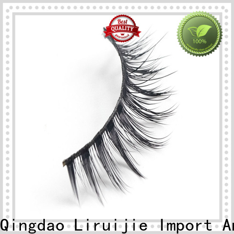 Top synthetic lashes false company for almond eyes