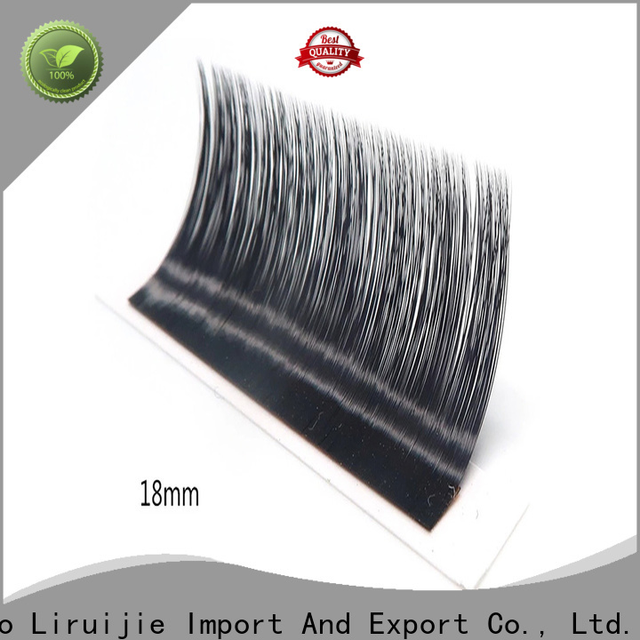 Liruijie eyelash places to get lash extensions near me factory for small eyes