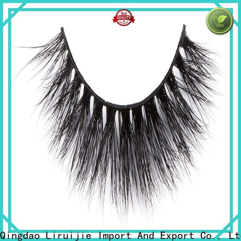 Liruijie New real mink fur eyelashes supply for beginners