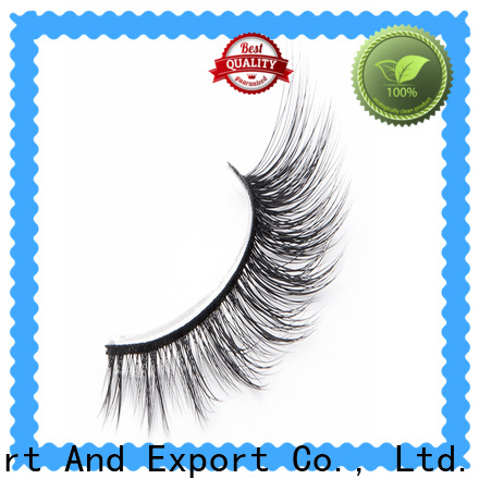 Latest synthetic silk lashes magnetic factory for almond eyes