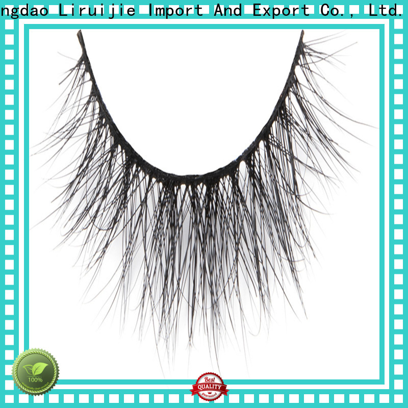 Liruijie Custom faux mink lashes wholesale suppliers for small eyes