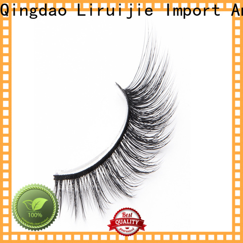 Liruijie flower wholesale individual lashes supply for Asian eyes