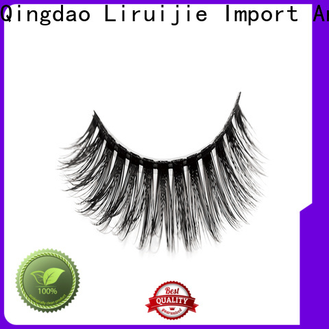 Liruijie costeffective synthetic false lashes company for Asian eyes