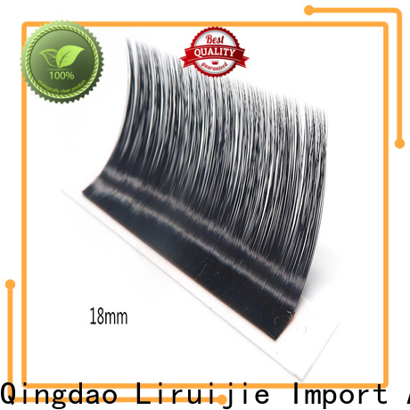 Liruijie real my lash extensions factory for beginners
