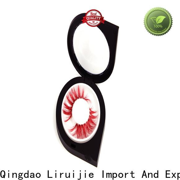Liruijie magnetic empty lash cases factory for mink eyelashes