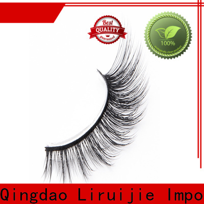 Liruijie Best synthetic eyelashes manufacturers suppliers for almond eyes