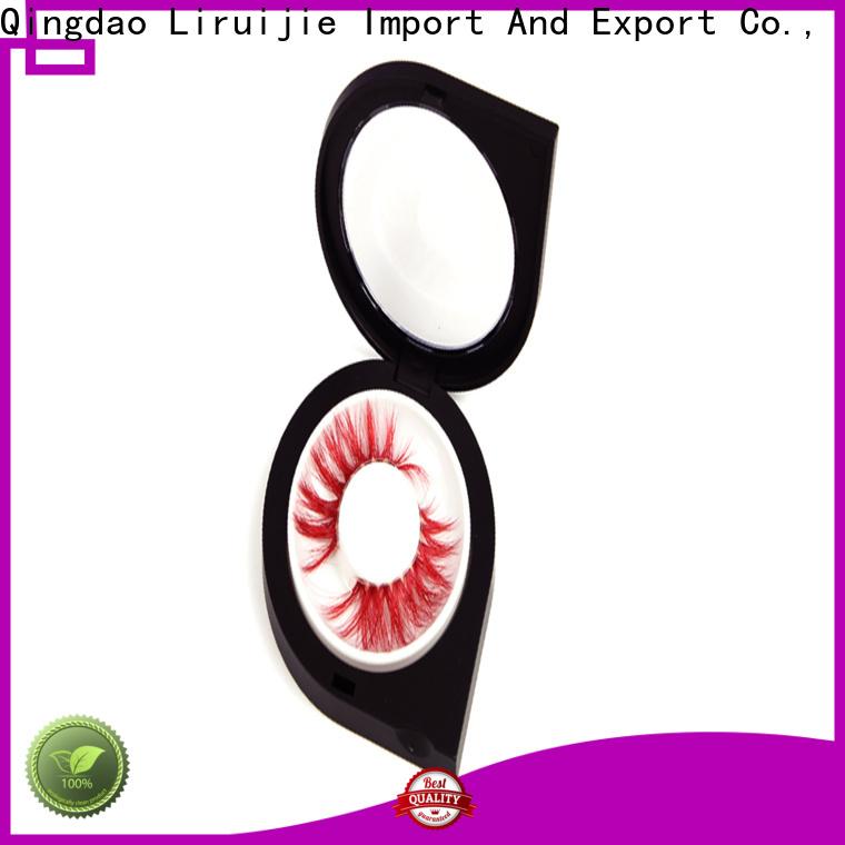 Liruijie box semi permanent eyelashes wholesale for business for eyelash extensions