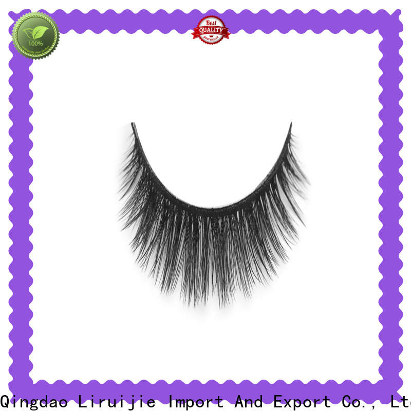 Liruijie magnetic synthetic silk lashes for business for Asian eyes