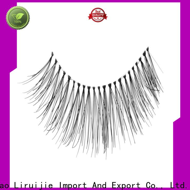 Liruijie korean eyelashes wholesale suppliers for round eyes