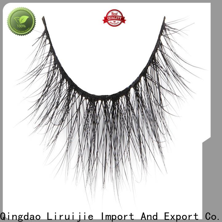Liruijie fake mink fur lashes wholesale company for beginners
