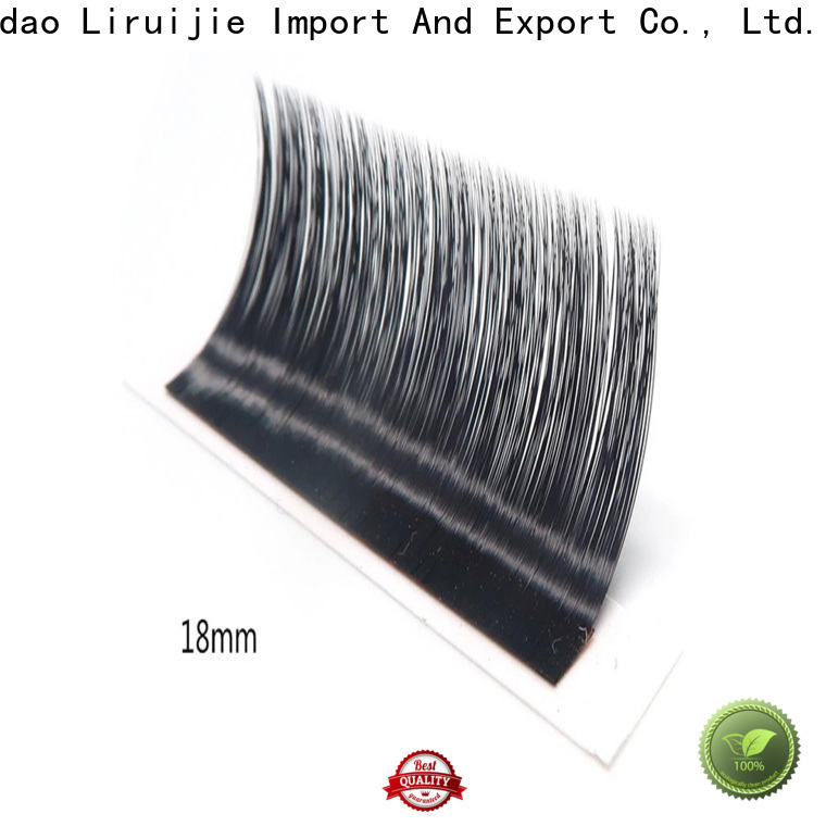 Liruijie Custom long lasting lash extensions factory for small eyes