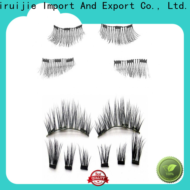 Liruijie pretty fake eyelashes factory for round eyes