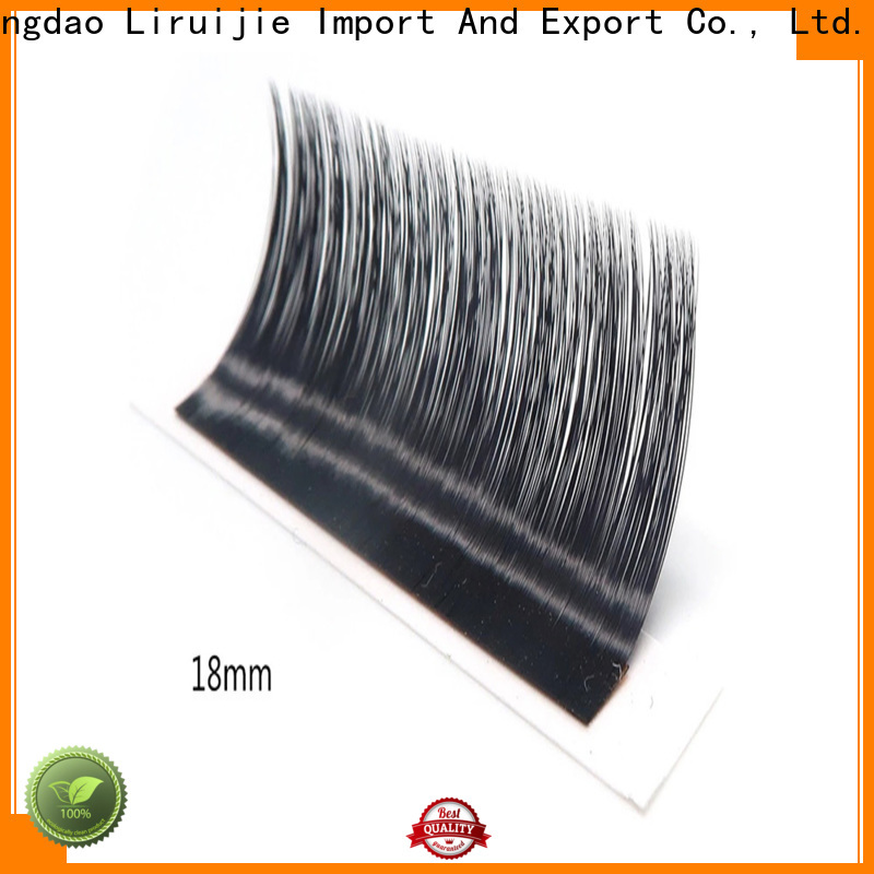 Wholesale eyelash extension lengths lash factory for straight lashes