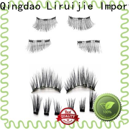 Liruijie huge false eyelashes factory for almond eyes