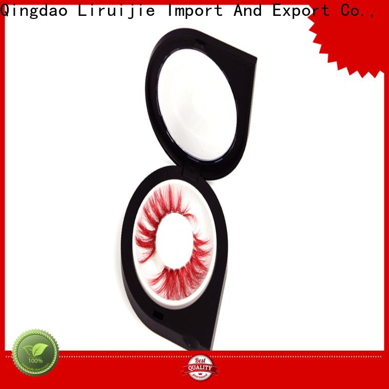 Liruijie Custom eyelash container wholesale suppliers for mink eyelashes