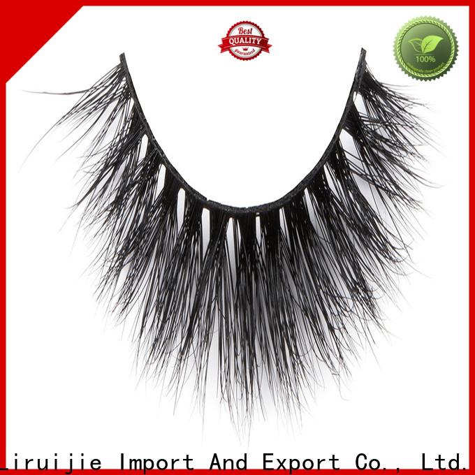 Liruijie series fake mink lashes manufacturers for sensitive eyes