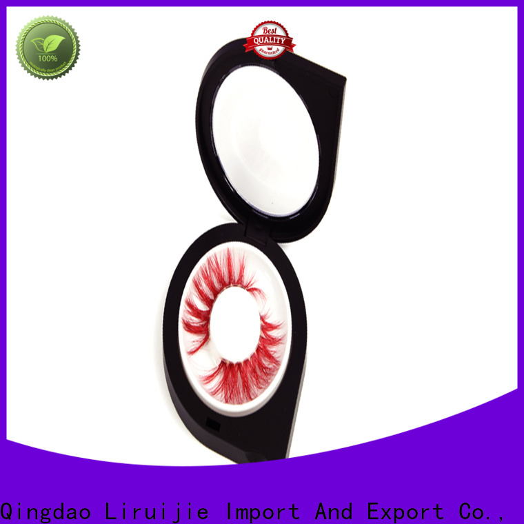 Liruijie box wholesale mink lashes vendors for business for eyelash extensions