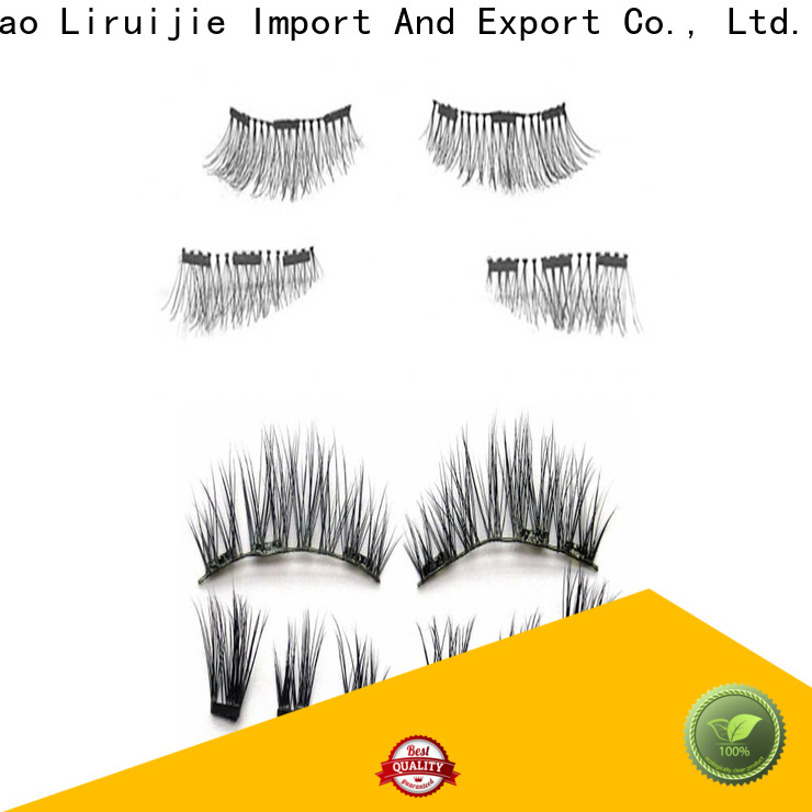 Liruijie Latest mink eyelashes price suppliers for small eyes