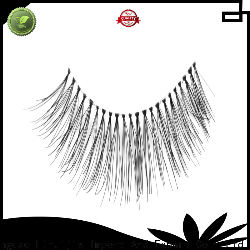 Liruijie eyelashes wholesale china suppliers for almond eyes