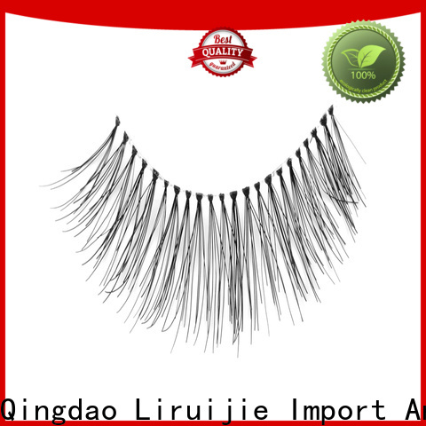 Liruijie most natural eyelash extensions factory for round eyes